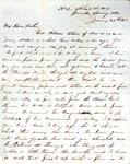 James B. Safford Civil War Correspondence #31