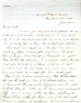 James B. Safford Civil War Correspondence #32