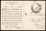 Joseph B. Wilkinson First World War Correspondence #1 by Joseph B. Wilkinson