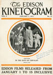 Cover of the Edison Kinetogram, January 1, 1911