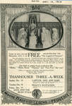 Thanhouser advertisement in Reel Life Magazine, 1913
