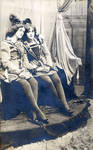 Two members of Thanhouser Company in costume
