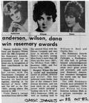 Newspaper clipping from Classic Images, October, 1982