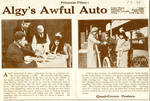 Algy's Awful Auto, 1913