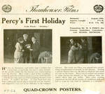 Percy's First Holiday, 1914