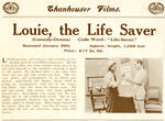 Louie, the Life Saver, 1913