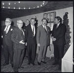 Gregory Peck, Eric Berndt and several officers of SMPTE, 1968