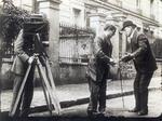Filming a Silent Film Scene