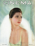 Cinema, The Magazine of the Photoplay, June 1930 cover