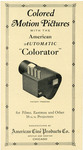 "American Automatic ""Colorator"" pamphlet"