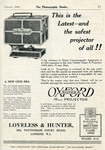 Oxford Super-K 16 mm Projector advertisement