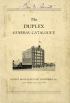 The Duplex General Catalog, ca. 1925
