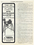 J. Demaria Projectors Catalog Advertisement