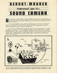 Berndt-Maurer Professional Type 16 mm Sound Camera Brochure