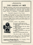 The American Ace Projector Mailer