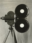 Bell & Howell Eyemo Camera and Tripod