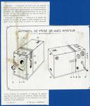 28 mm Amateur Pathé Camera Diagram