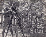 Military Cameraman and Bell & Howell Standard Camera