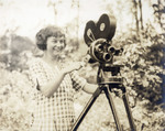 Woman Behind B&H Standard Camera