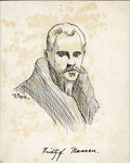 Gregory Sketch of Fridtjof Nansen