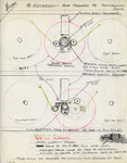 Alexander Victor Re-Recorder Diagram, 1954