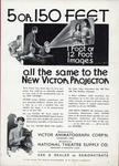 Victor 8-H Animatograph Projector, 1932