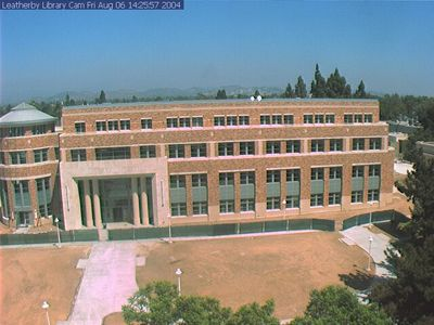 Leatherby Libraries Construction Webcam