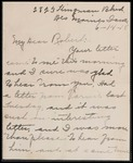 Lindstadt Brothers First World War Correspondence Collection #38