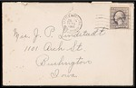 Lindstadt Brothers First World War Correspondence Collection #43