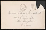 Lindstadt Brothers First World War Correspondence Collection #46