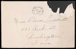 Lindstadt Brothers First World War Correspondence Collection #47