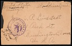 Lindstadt Brothers First World War Correspondence Collection #62