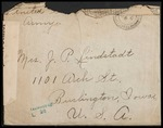 Lindstadt Brothers First World War Correspondence Collection #68