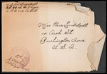 Lindstadt Brothers First World War Correspondence Collection #74