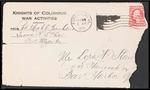 Mack Franklin First World War Correspondence #4