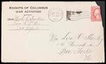 Mack Franklin First World War Correspondence #5