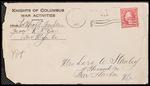 Mack Franklin First World War Correspondence #6