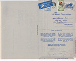 Henri Temianka Correspondence; (HAdler)