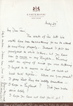 Henri Temianka Correspondence; (ethel bartlett)