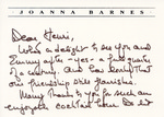 Henri Temianka Correspondence; (joanna barnes)