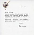 Henri Temianka Correspondence; (broger)