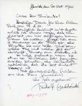 Henri Temianka Correspondence; (buchbinder)