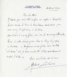 Henri Temianka Correspondence; (casadesus)