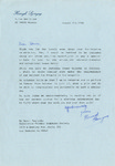 Henri Temianka Correspondence; (Szeryng)