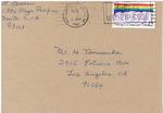 Henri Temianka Correspondence; (kamen)