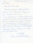 Henri Temianka Correspondence; (d'archambeau)