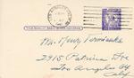 Henri Temianka Correspondence; (dorr)
