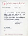 Henri Temianka Correspondence; (fielding)