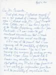 Henri Temianka Correspondence; (geschmay)