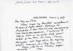 Henri Temianka Correspondence; (gimpel)